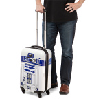 R2 D2 Star Wars themed carry on bag
